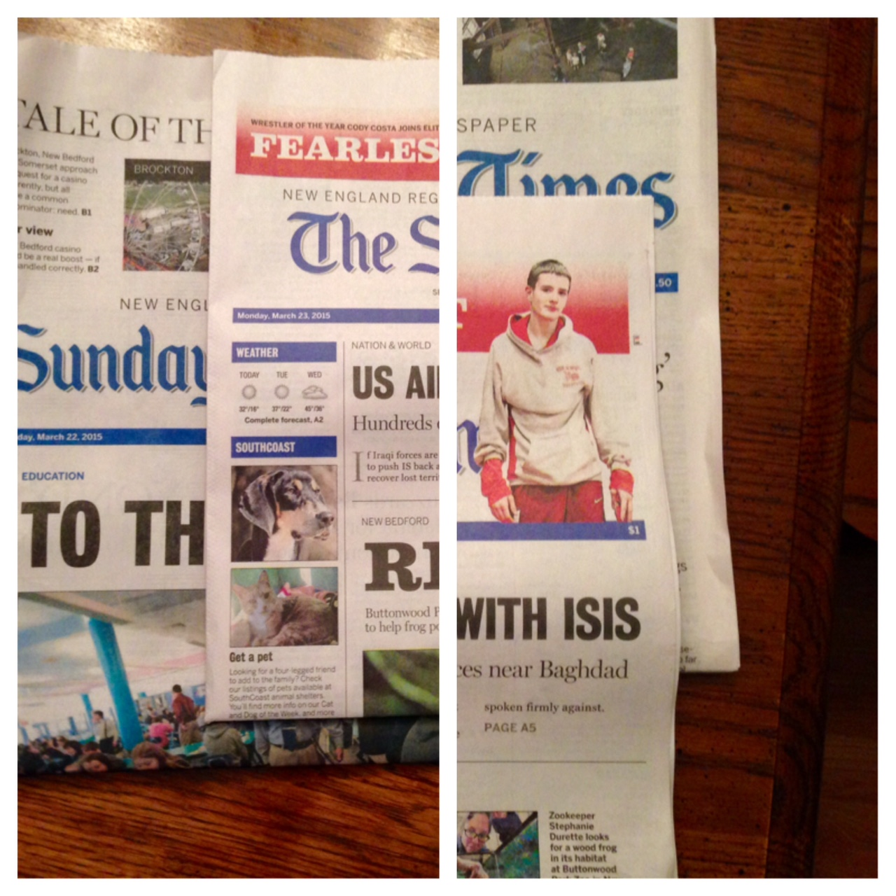 Corporate Owners Shrink New Bedford Standard-Times, Literally This Time