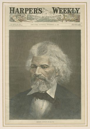 Frederick Douglass Harper's Weekly cover